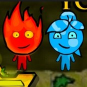 Fireboy and Water Girl in The Forest Temple Game